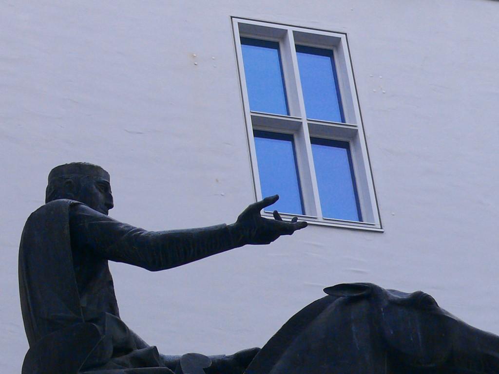 Fenster im Hofgraben