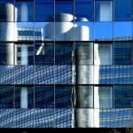 Hypo Hochhaus gespiegelt