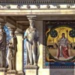 Mosaik Friedensengel